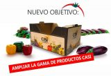 CASI is diversifying its offer with peppers and aubergines