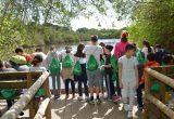 Grufesa conciencia a 300 alumnos de Moguer y Mazagón en Doñana sobre la importancia del agua