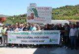 Manifestación Asaja Alicante cereza