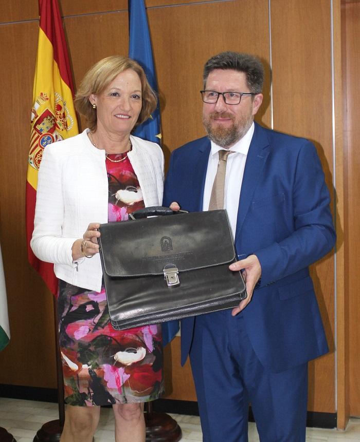 nuevo consejero agricultura andalucía Rodrigo Sánchez Haro