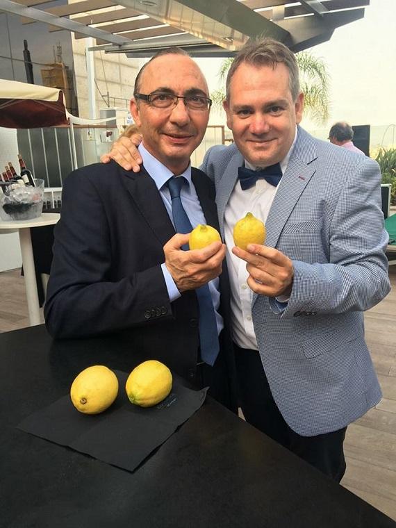 Fermín Sánchez y Francisco Seva Rivadulla