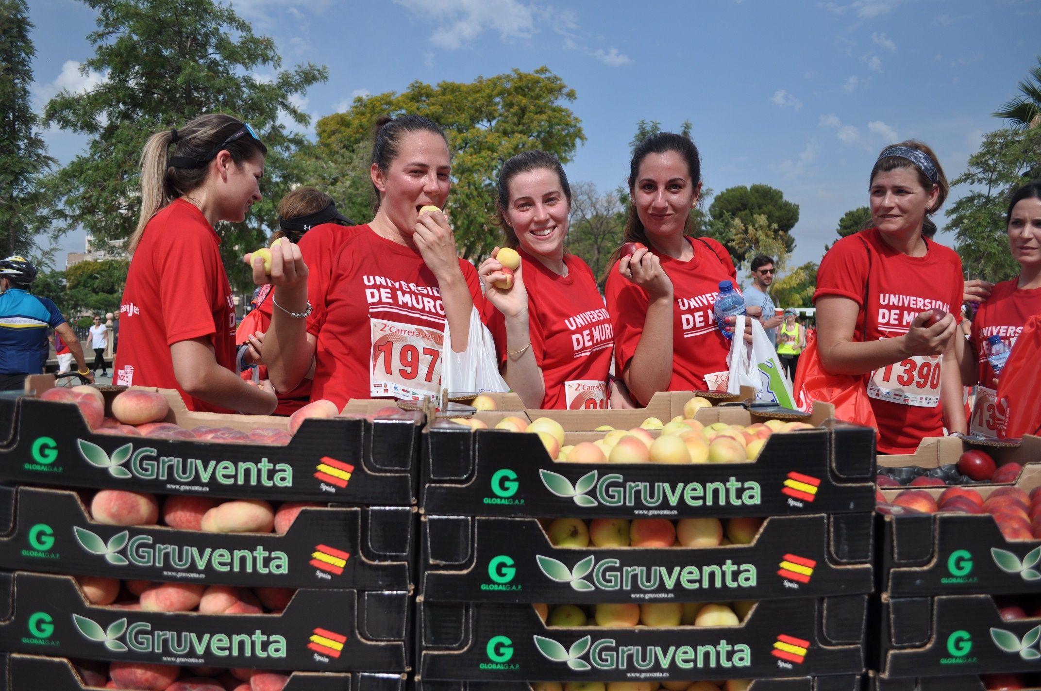 GRUVENTA en la II Carrera de la Mujer en Murcia 2017