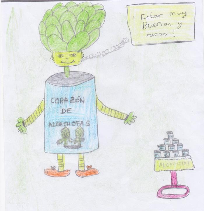 dibujo ganador alcachofa vega baja