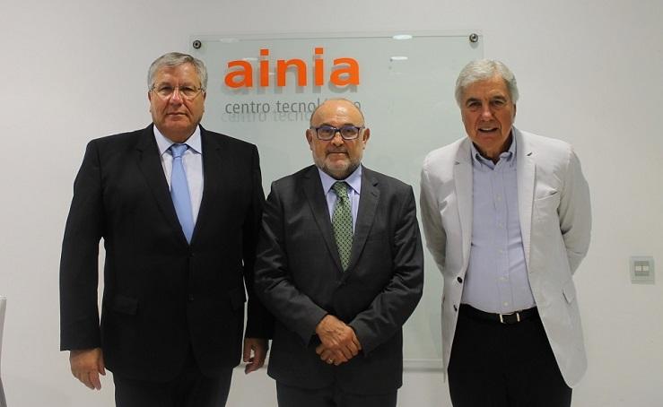 Manuel García-Portillo, Damián Frontera y Sebastián Subirtas AINIA