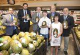 El Monarca y Corte Inglés presentan Melón Solidario en Castellana