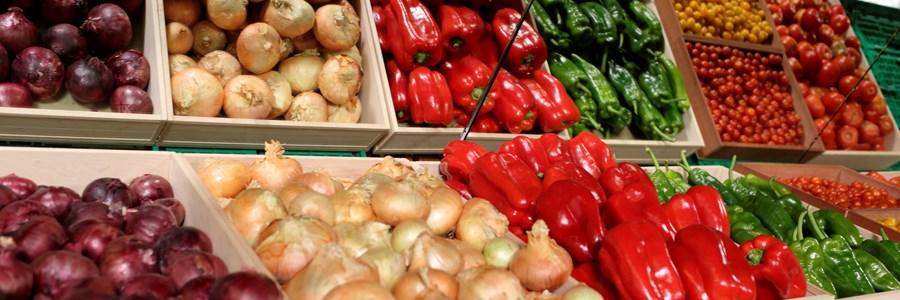 frutas y hortalizas asedas