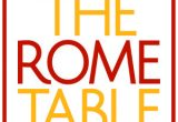 rome table - Fresh Produce International Meeting
