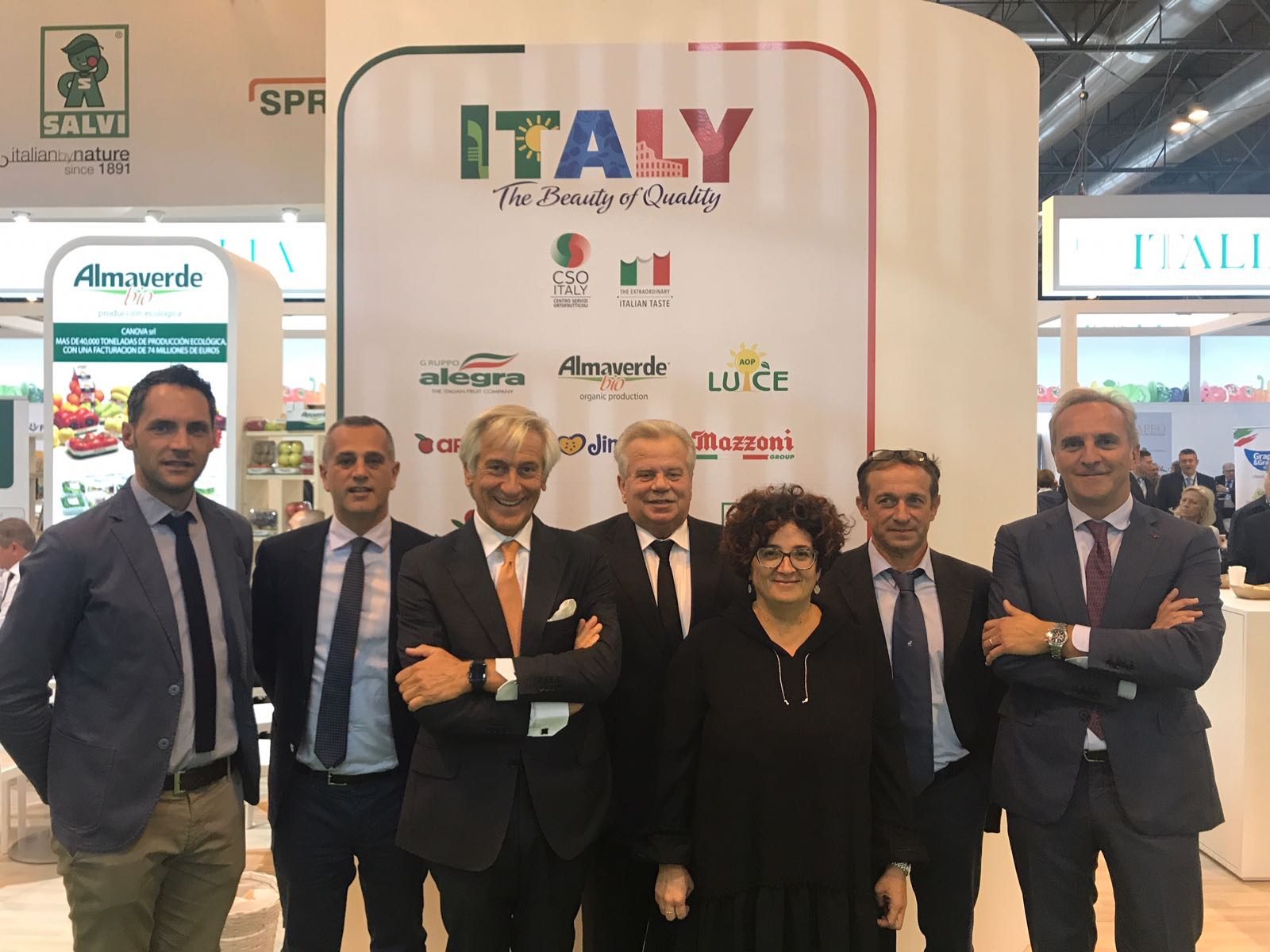 CSO Italy en Fruit Attraction 2017