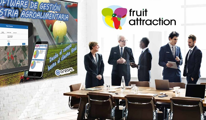 Gregal en foro smart agro - Fruit attraction 2017