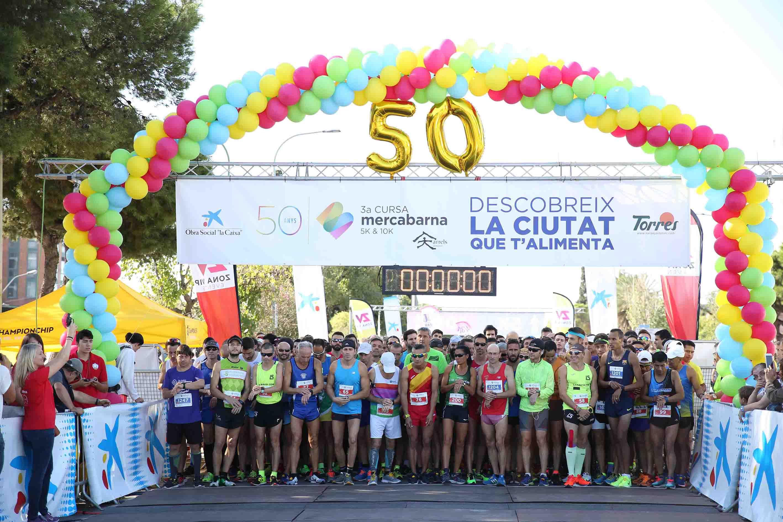 La Carrera Mercabarna reúne a 4.500 ciudadanos en los 50 años del ...