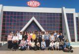 Agricultoras de CABASC visitan la cooperativa TROPS