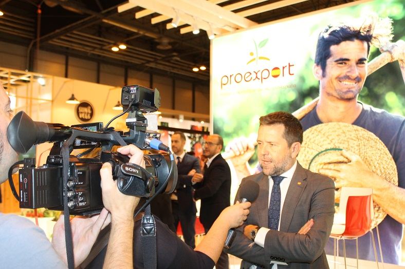 juan marin presidente proexport fruit attraction 2017