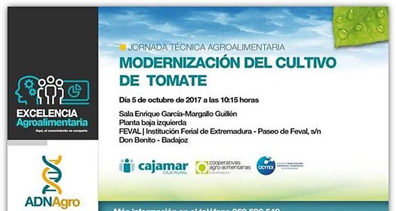 modernizacion tomate jornada cajamar