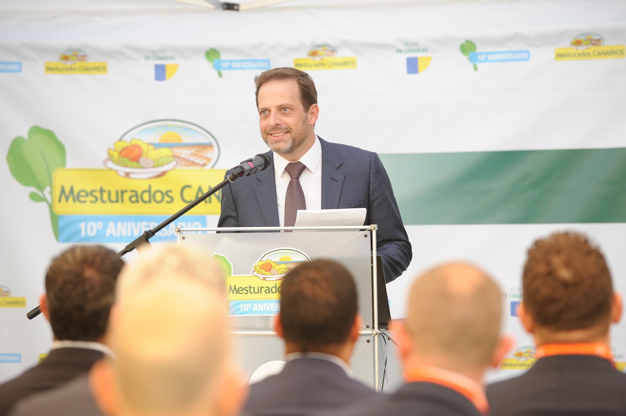 Carlos Diaz presidente de Mesturados canarios