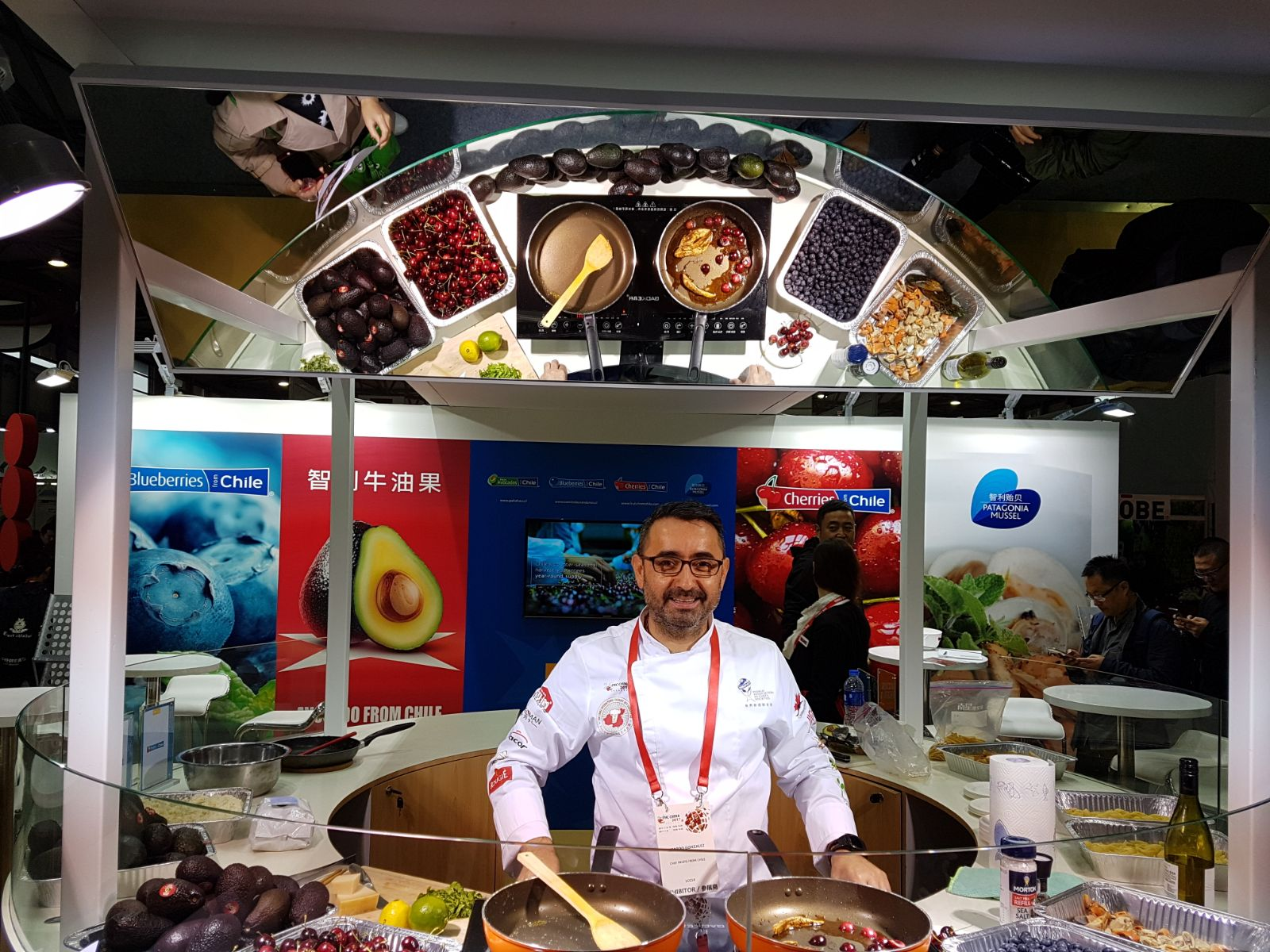 Chef Ricardo Gonzalez, FHC China 2017 asoex