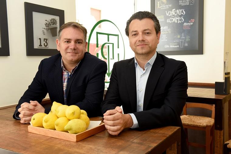 Francisco Seva y Javier Botía limón de españa
