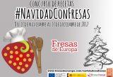 cartel_navidad con fresas 2017 concurso fresas de europa