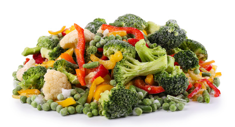 verdura congelada