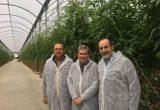 grupo Caparrós visita delegado