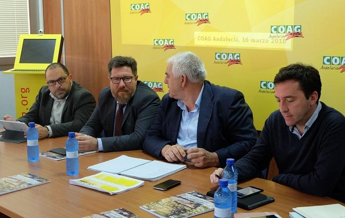 reunion consejero andaluz y coag PAC