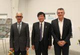 SAKATA Javier Bernabéu, Hiroshi Sakata y AlainSicard