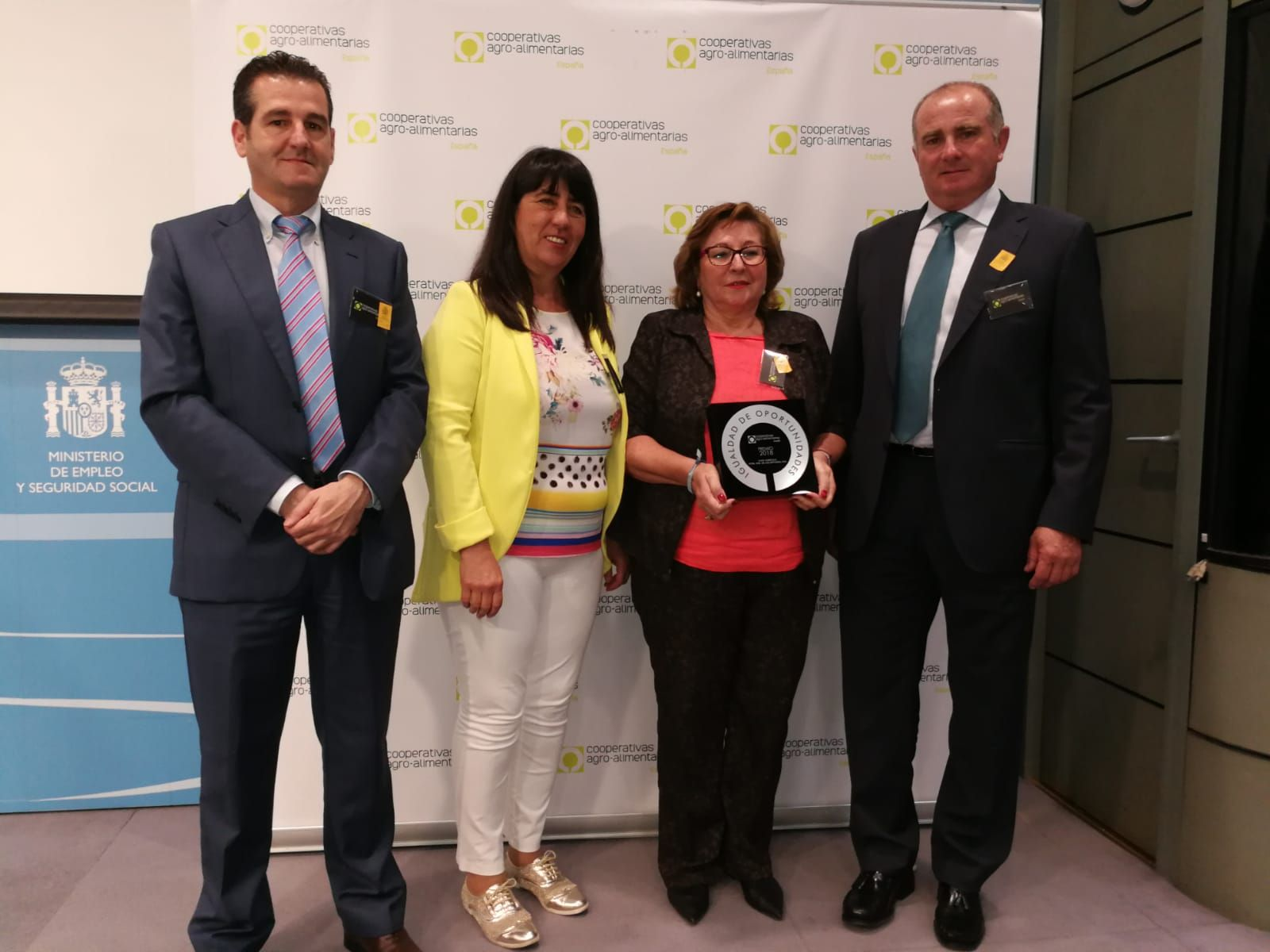 premios coopertivas Representantes de la cooperativa las virtudes