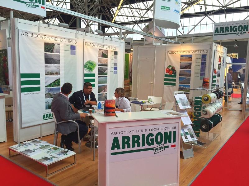 Stand Arrigoni en Greentech