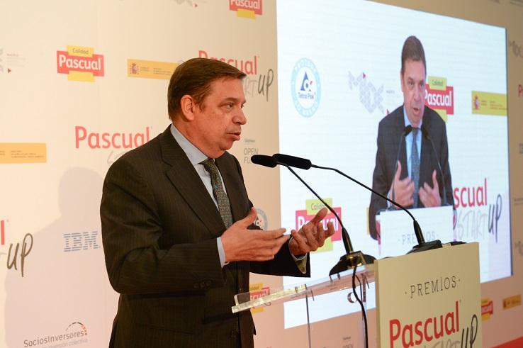 ministro agricultura luis planas premios startup pascual