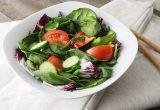 ensalada comida saludable dieta mediterránea consumo alimentación