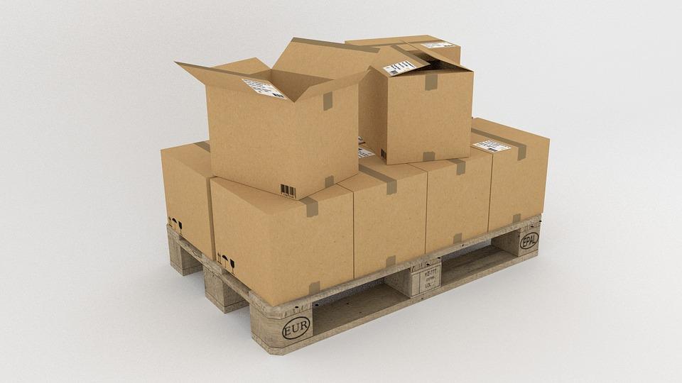 pallet cajas carton envases packaging
