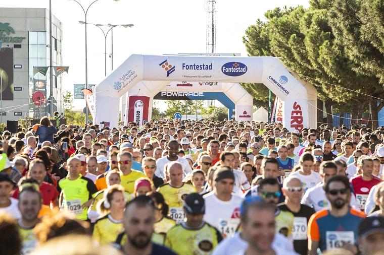 salida mercamadrid carrera 10k