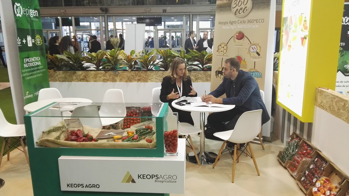 stand keops agro