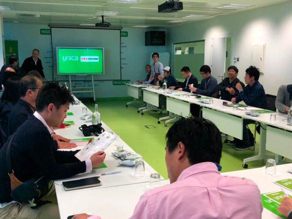 visita NFACA japón a Unica