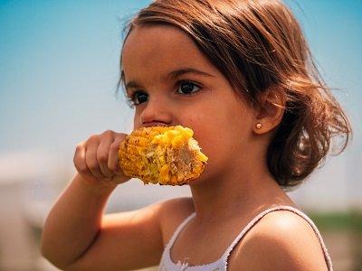 niña maiz huercasa consumo