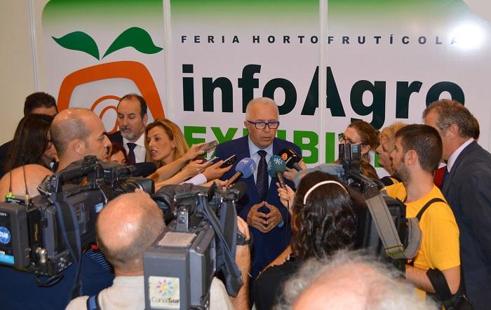 Medios comunicacion Infoagro exhibition