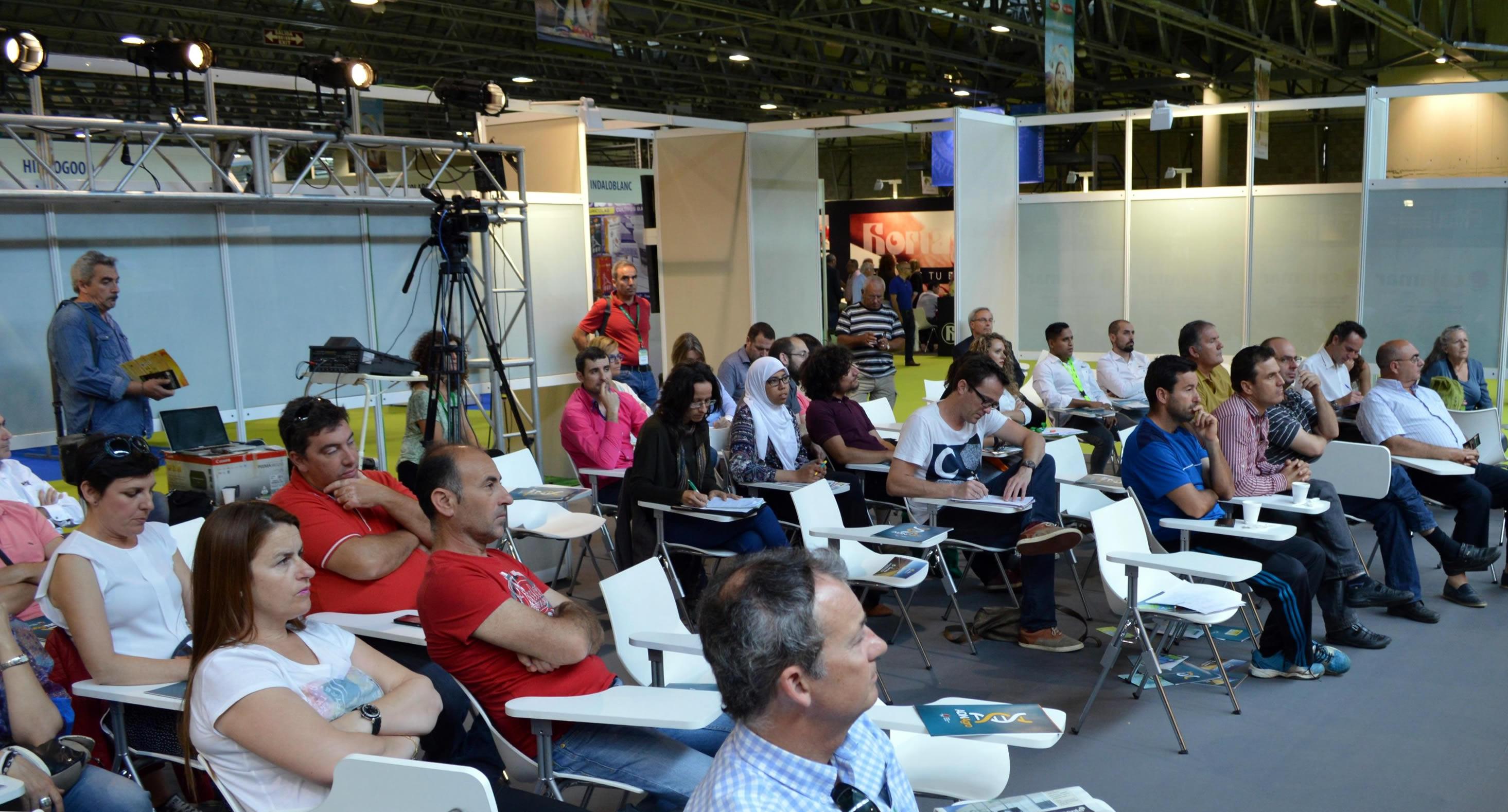 Sala de conferencias infoagro exhibition 2015