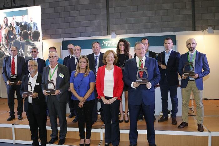 Foto de familia premios Infoagro Exhibition2017