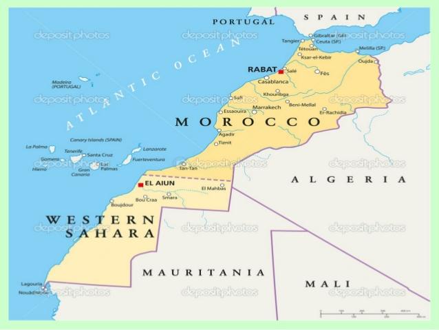 marruecos mapa