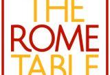 rome table - Fresh Produce International Meeting