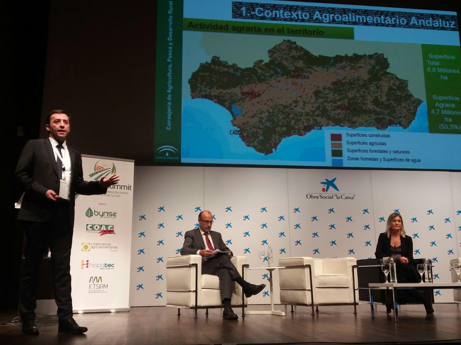 AgridataSummit vicepresidente agricultura junta andalucia