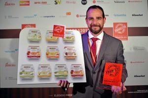 Raúl Medina Vegetales Línea Verde premio producto año