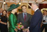 eosta with Queen Maxima at Biobeurs