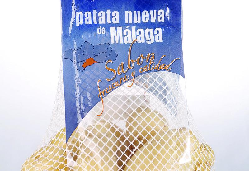 Bolsa de patata nueva de Málaga