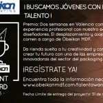 Convocatoria Talent Award 18 obeikan