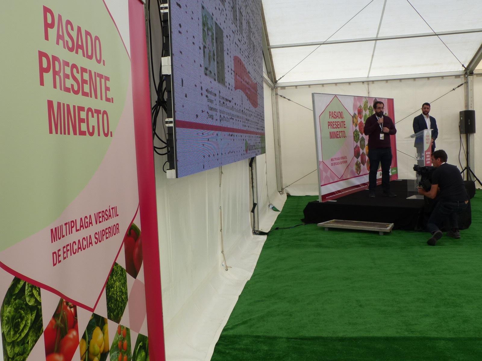 MINECTO ALPHA SYNGENTA Presentación en Mazarrón