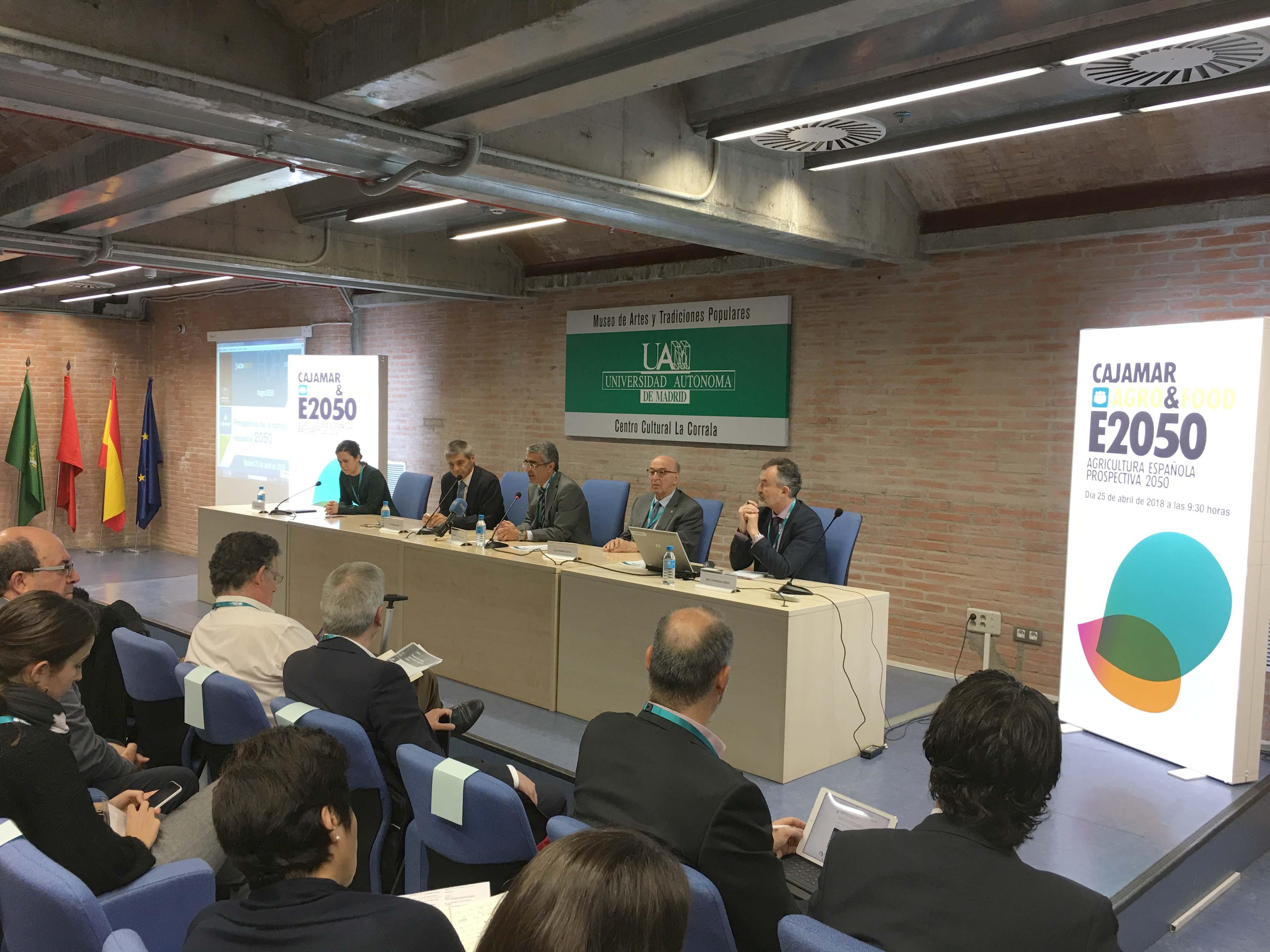 Prospectiva de la Agricultura española 2050 cajamar
