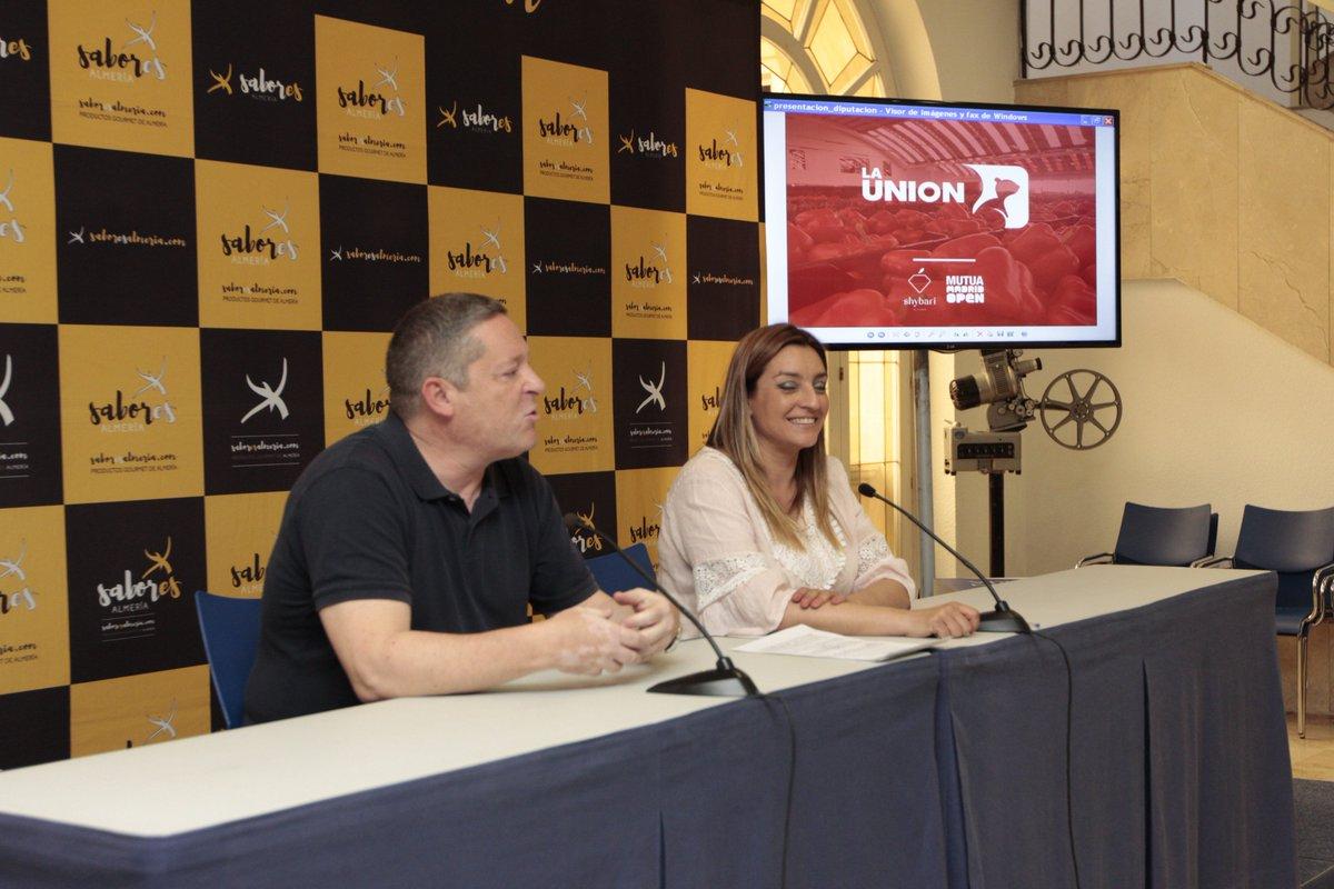 alh la unión Shybari, en el torneo de tenis Mutua Madrid Open