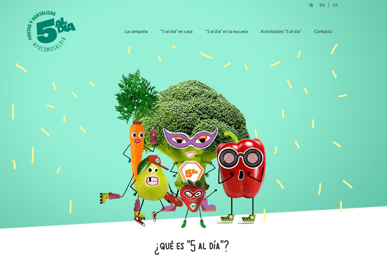 nueva web 5aldia