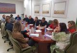 reunión de la consejera Begoña García con la Agrupación de Cooperativas Valle del Jerte, organizaciones agrarias, Cooperativas Agroalimentarias y AFRUEX