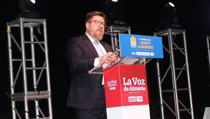 Premios La Voz consejero andaluz sanchez haro
